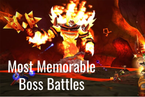 The most memorable World of Warcraft boss battles