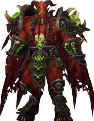 Kil'Jaeden from World of Warcraft