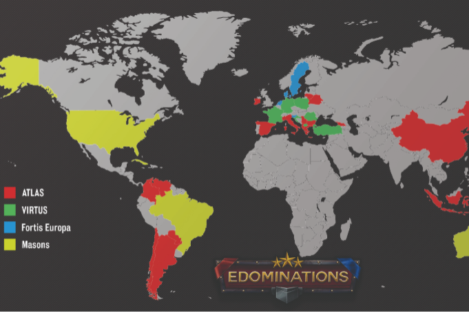 Alliances of eDominations