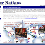 An online nation simulation game