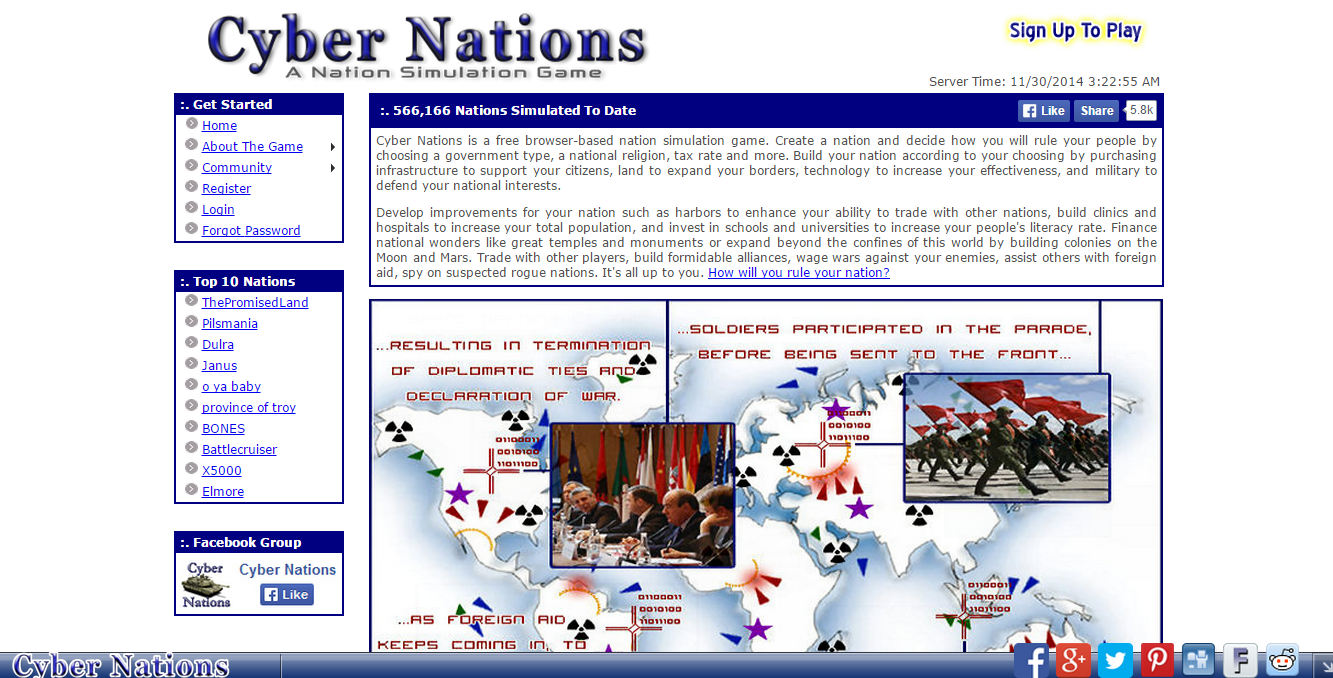 cyber-nations