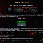 Massive online space game