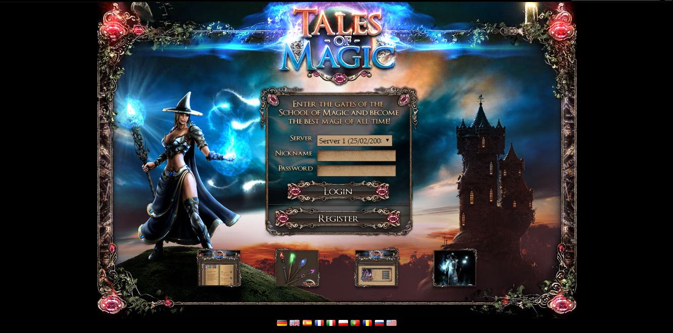 magic browsergame