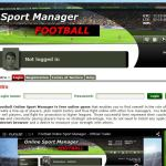 Football online sport manager