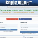 Online gangster browser game