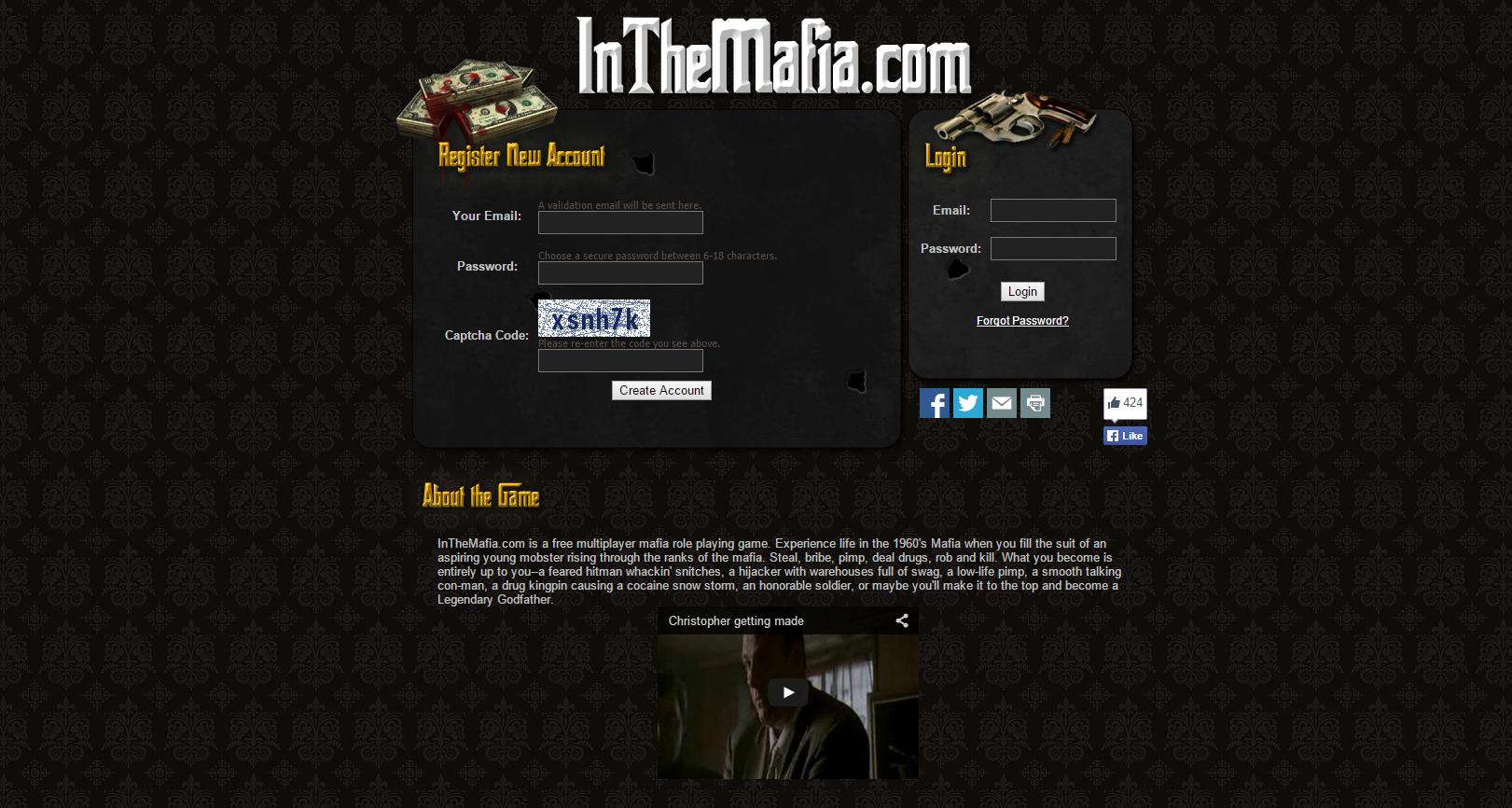 browsergame mafia