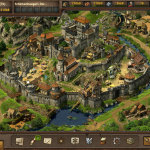 Medieval strategy browser game
