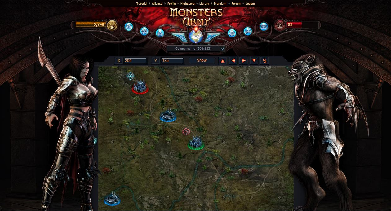 Werewolves And Vampires Game