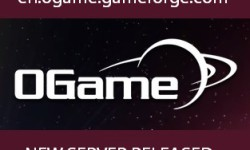 Fresh OGame server launched
