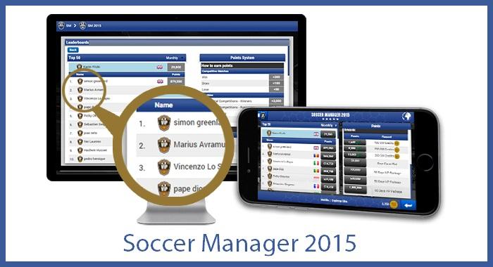 Soccer Manager app
