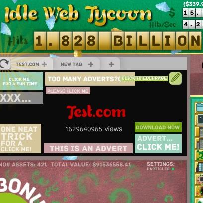 Idle Web Tycoon