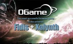 Ogame Fidis and Xalynth