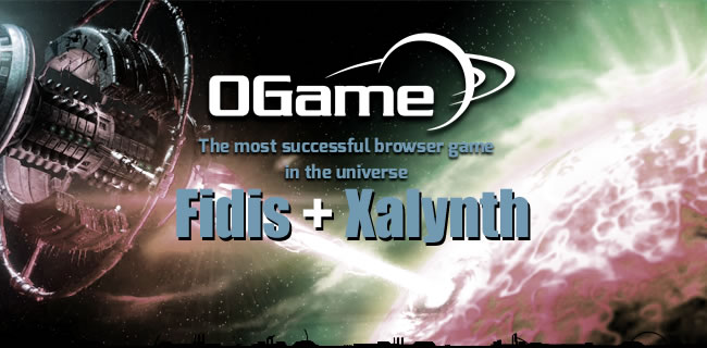 Ogame Fidis and Xalynth