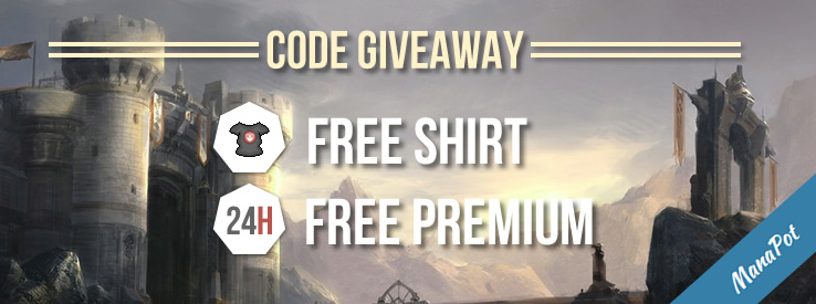 ManaPot giveaway code