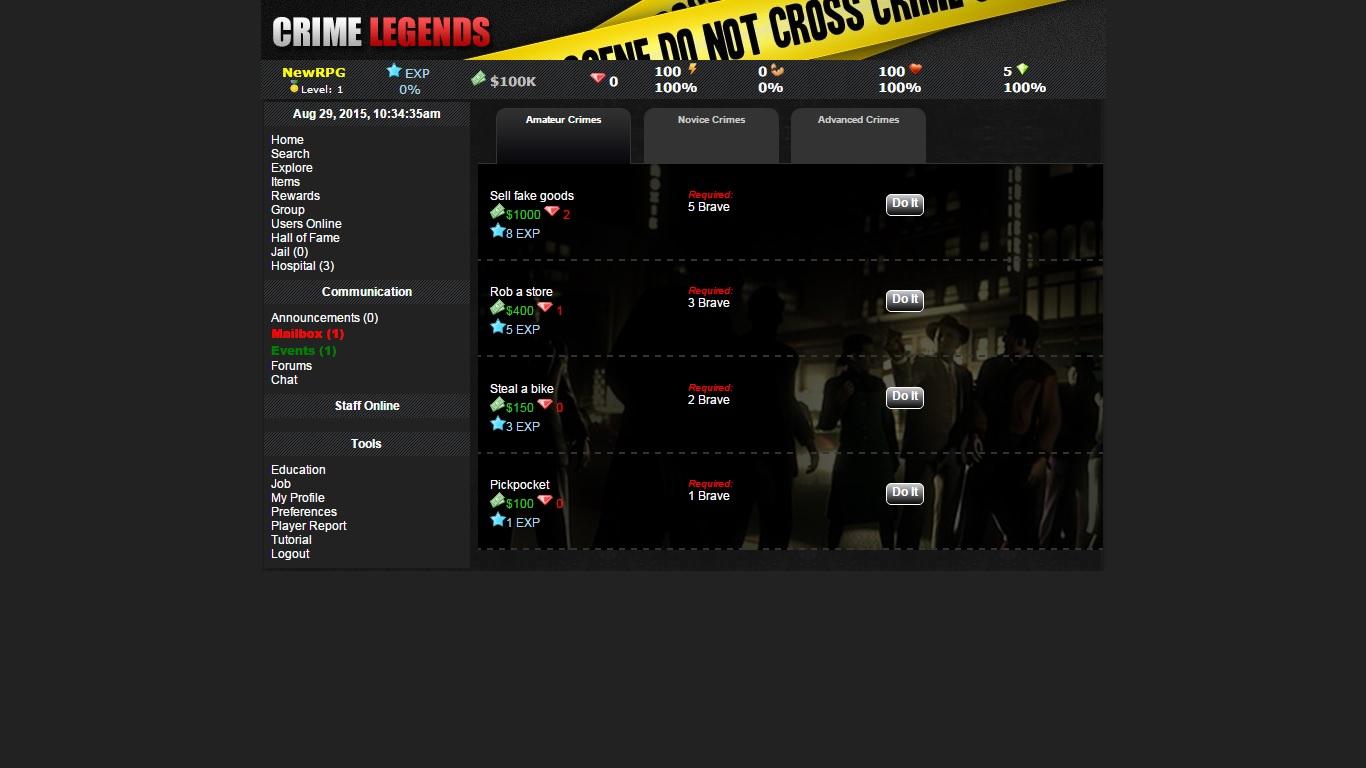 Crime Legends