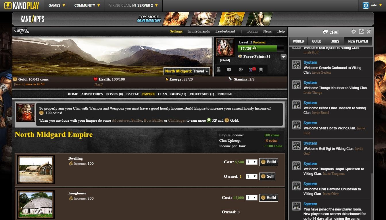 Viking Clan - Fighting RPG