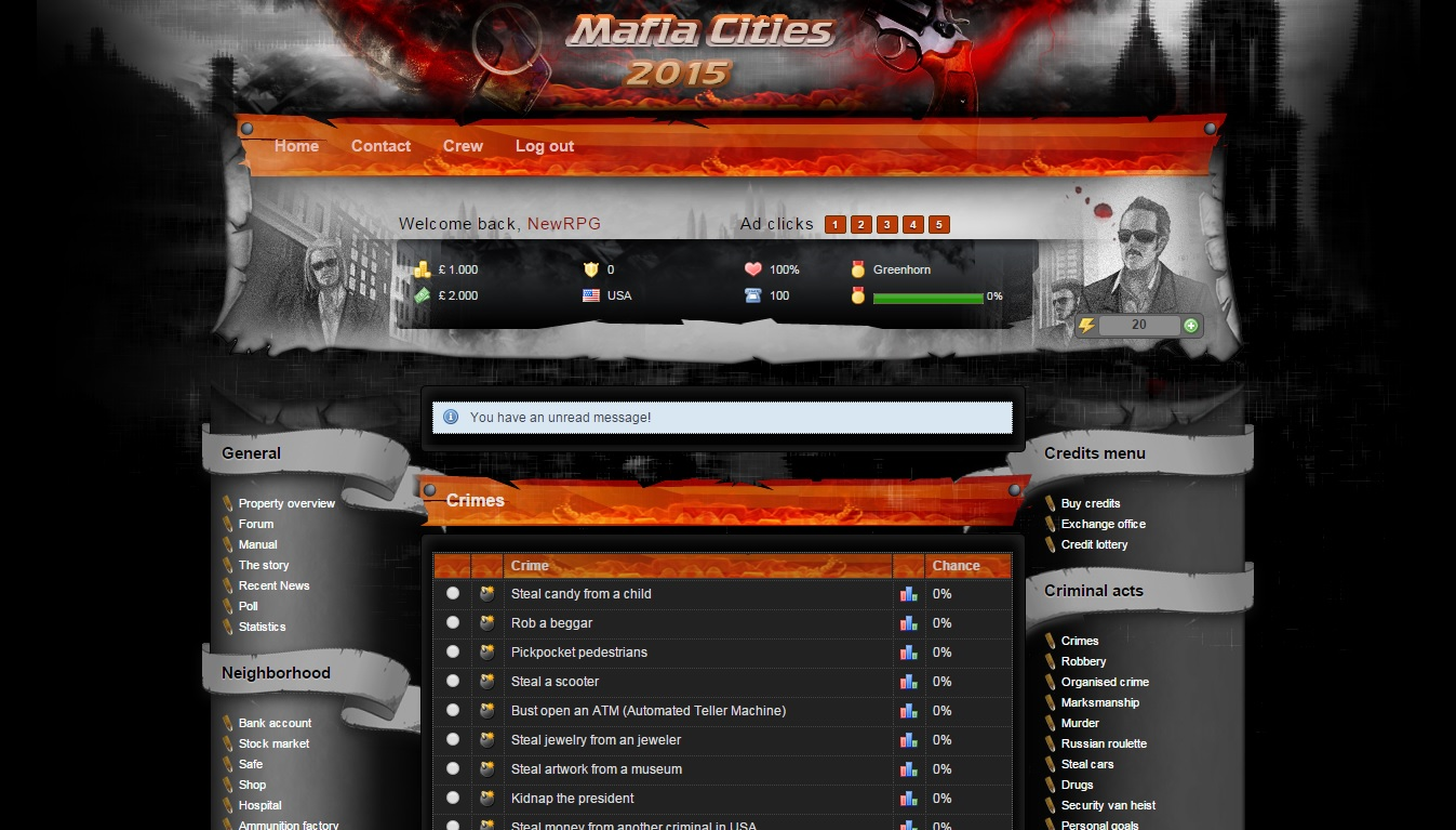 Mafia Cities 2015