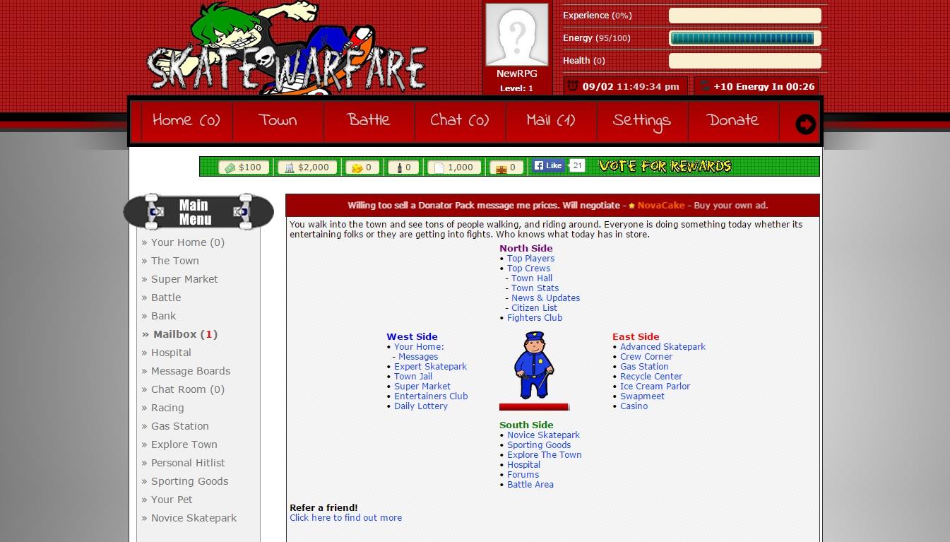 skat browser