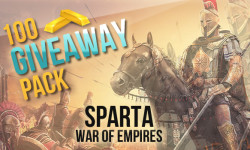 Sparta: War of Empires giveaway