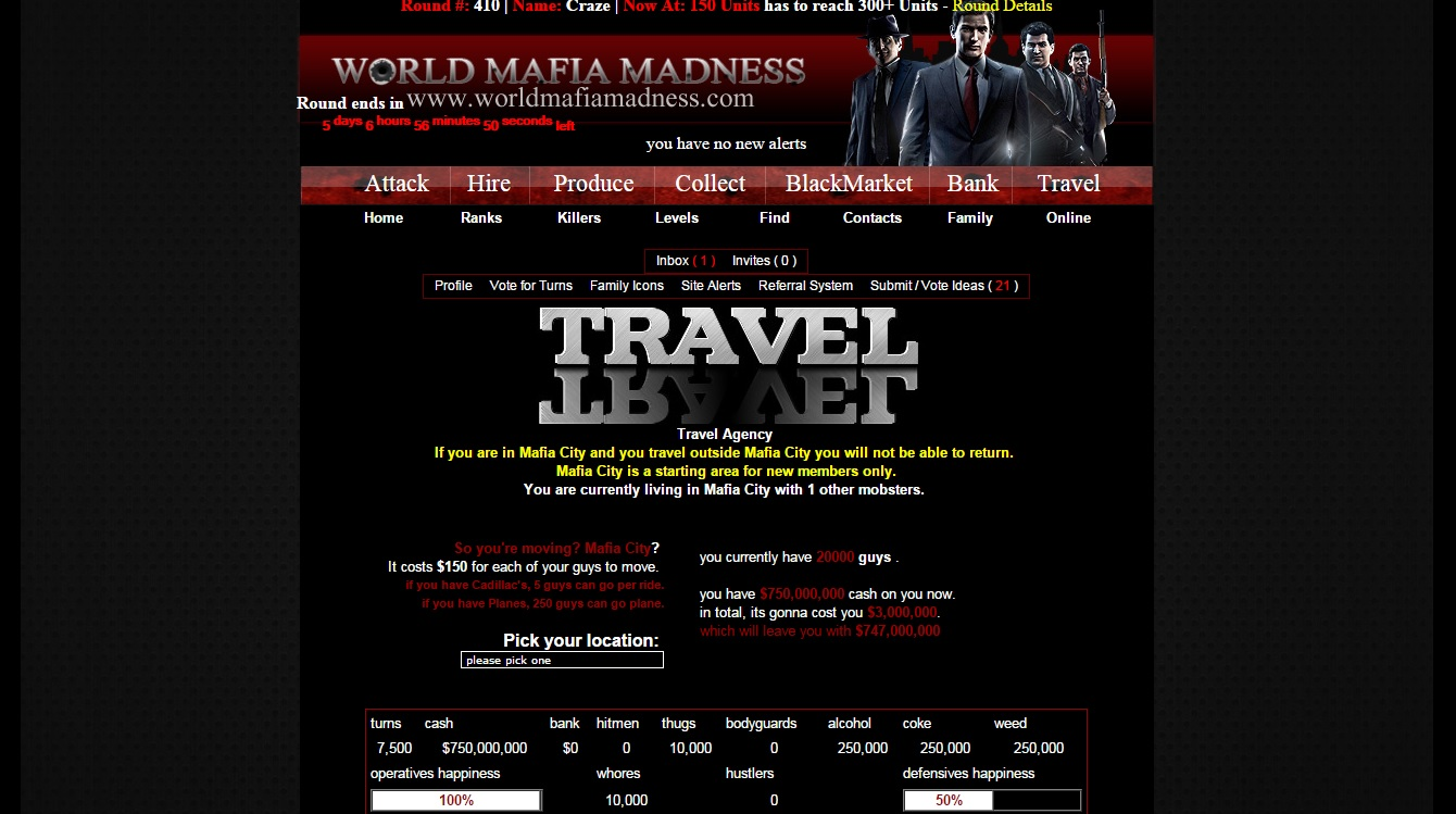 World Mafia Madness