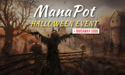 ManaPot Halloween giveaway