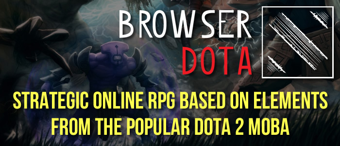 Browser Dota Online Strategy