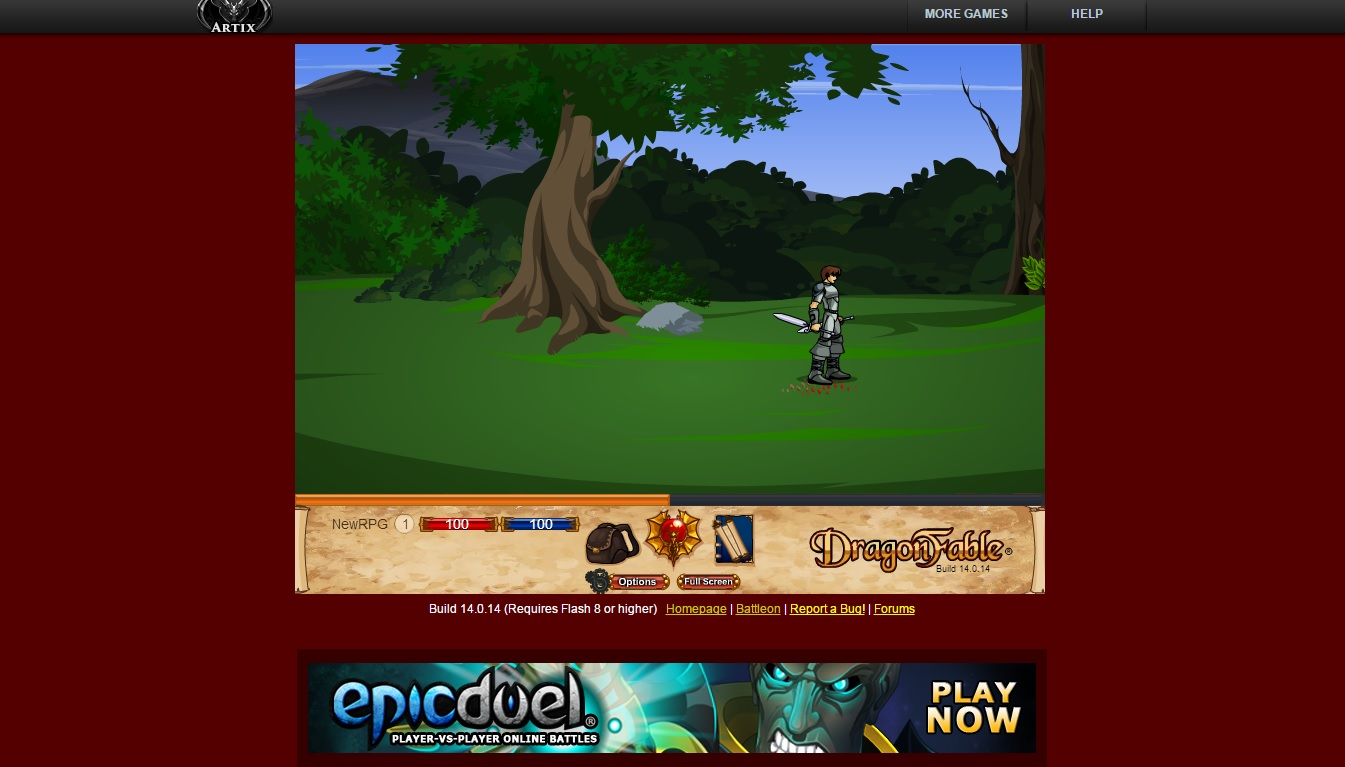 DragonFable - Online Fighting RPG