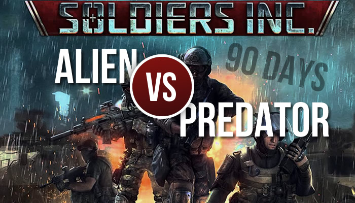 Soldiers Inc - Alien vs Predator
