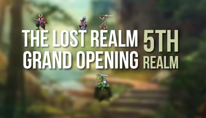 The Lost Realm - Grand opening