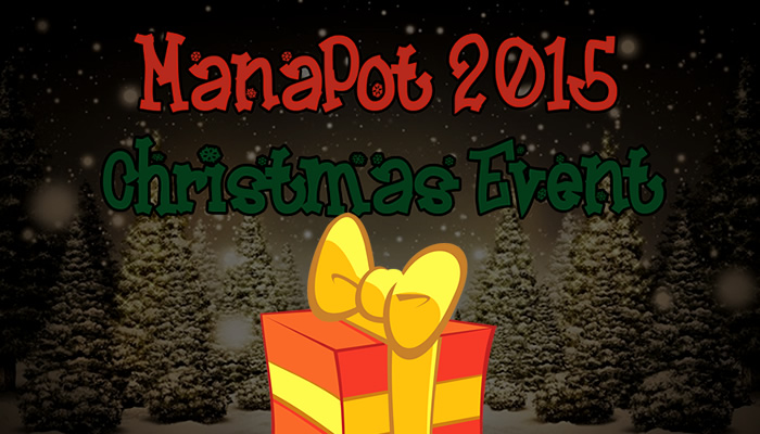 ManaPot Christmas giveaway