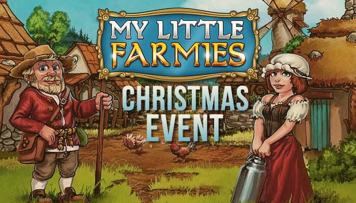 My little farmies christmas event for My little farmies
