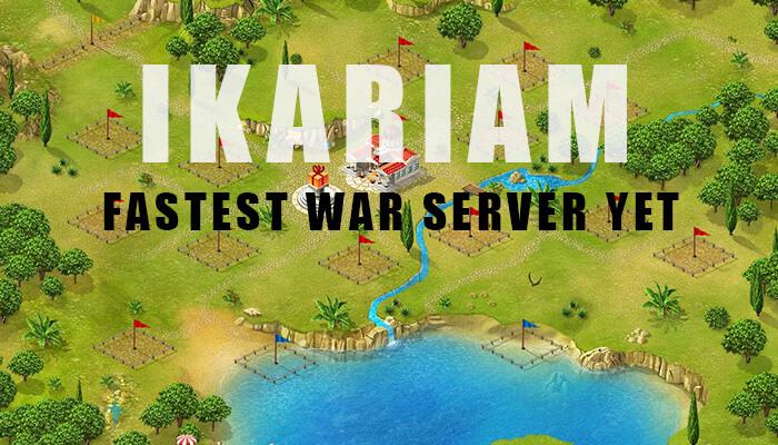 Ikariam fastest war server Yet