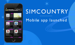 SimCountry mobile app