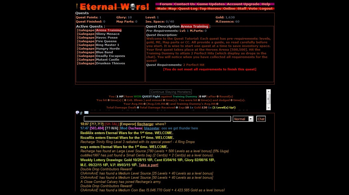 Eternal Wars