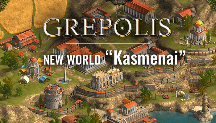 Grepolis Kasmenai world