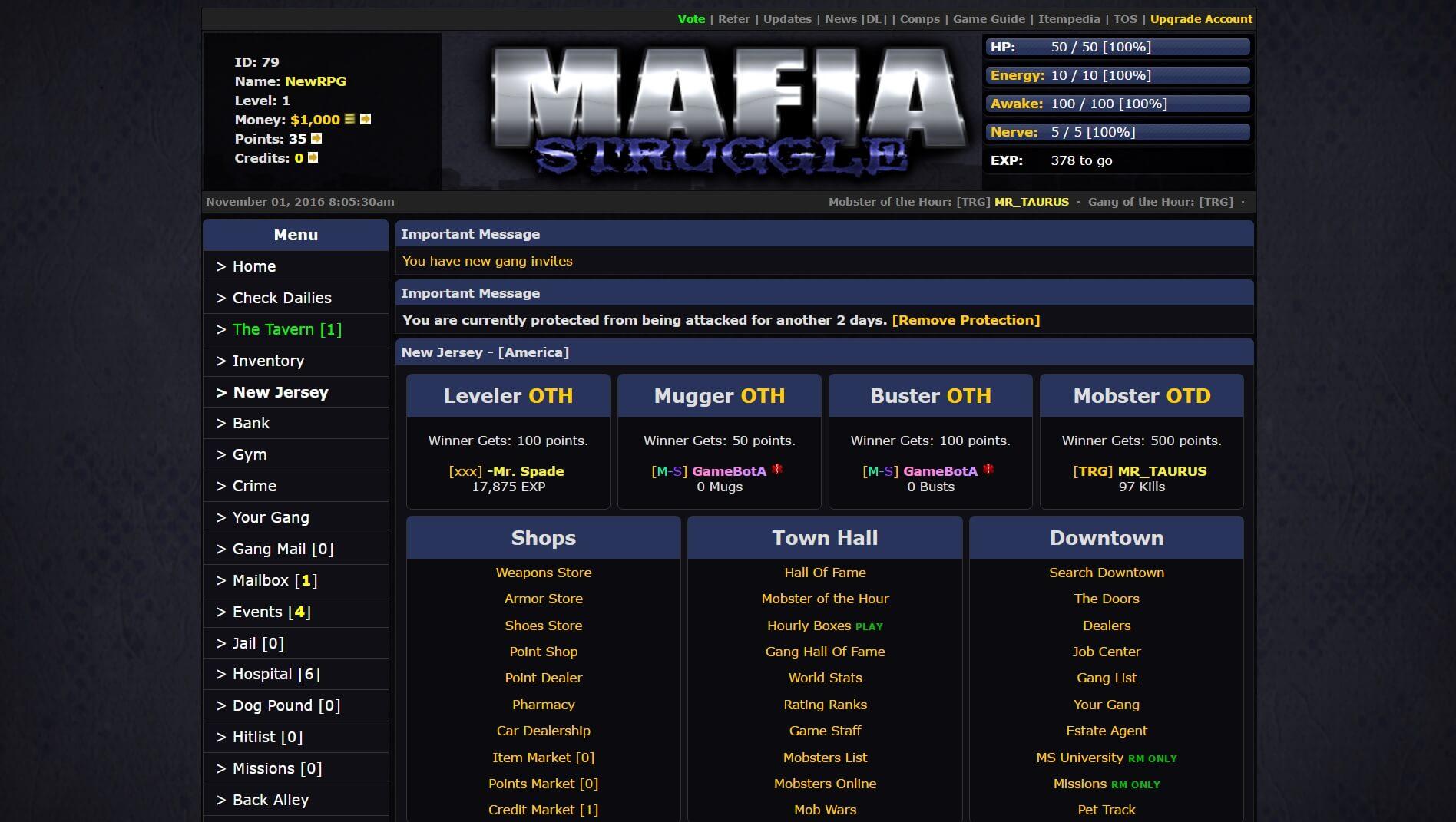 Mafia Struggle