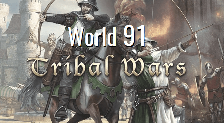 Fresh Tribal Wars world 91