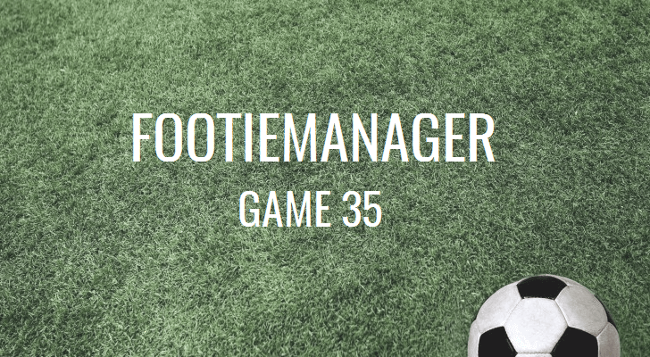 FootieManager new premier game 35