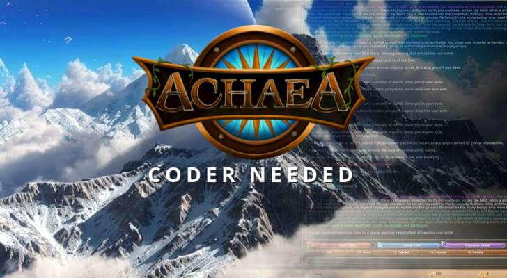 Achaea coder needed