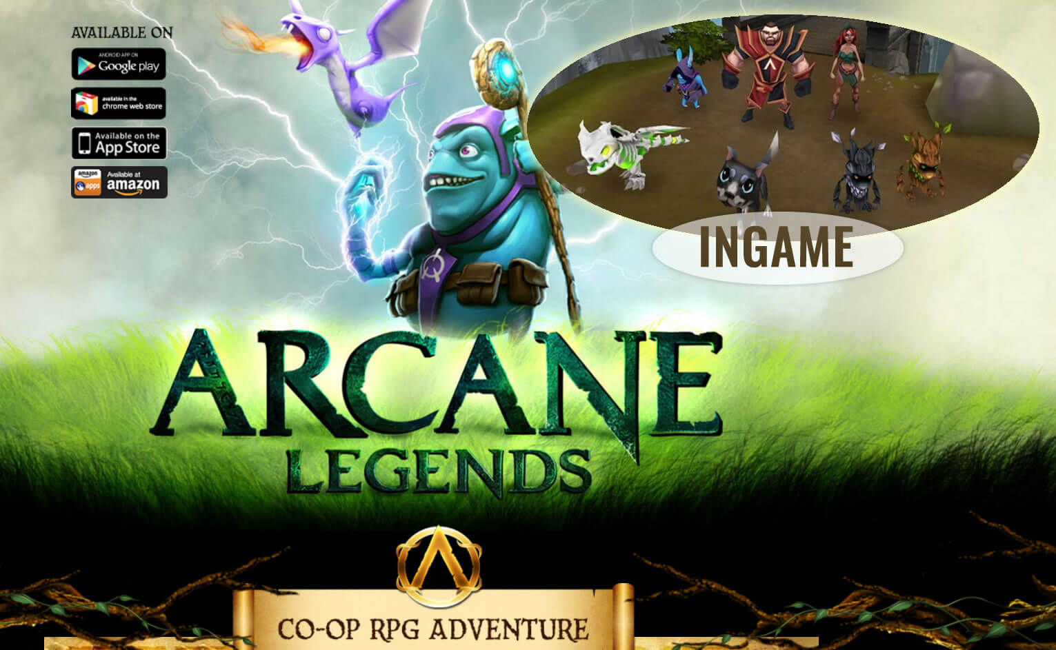 Arcane Legends - Coop adventure RPG