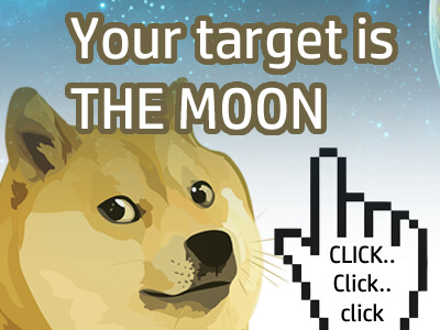 Doge Miner idle game clicker