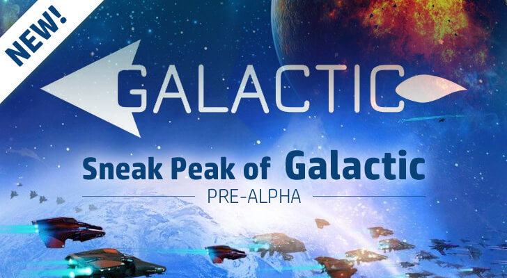 Galactic sneak peak