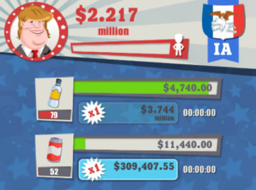 Billionaire President idle game