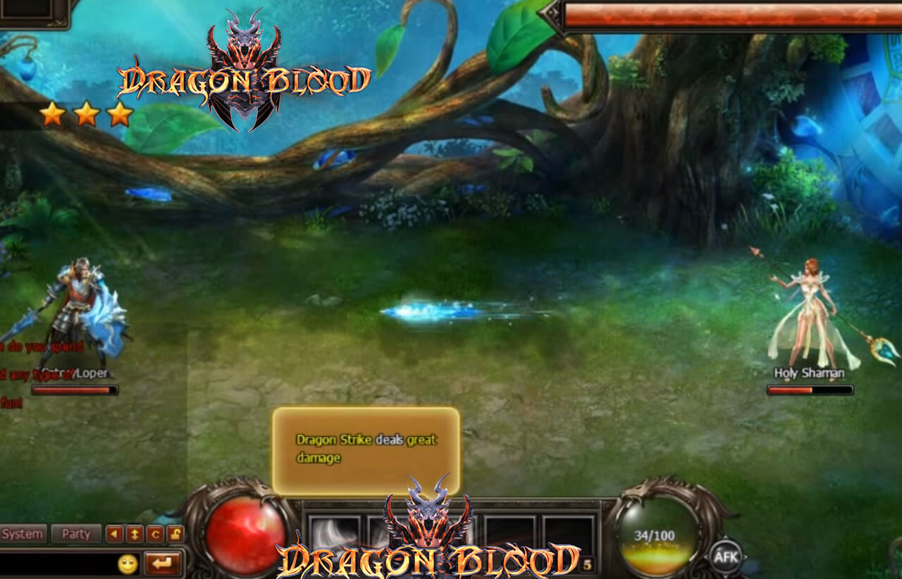 Dragon Blood F2P mmorpg