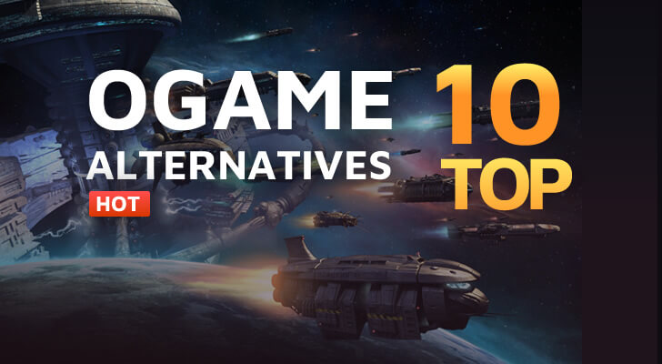Top10 OGame alternatives