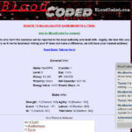 bloodcoded - browser mmorpg