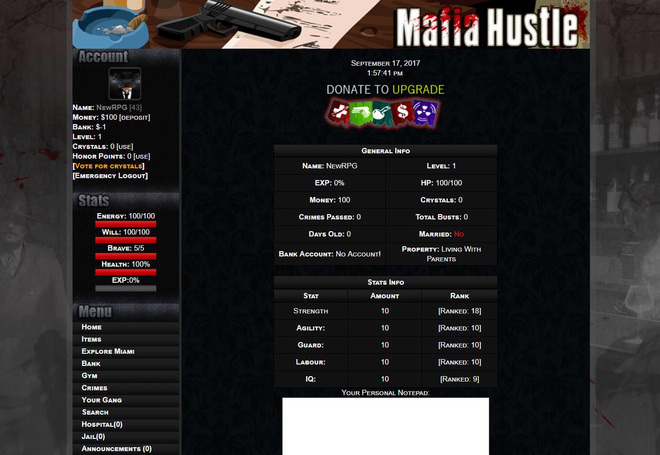 Mafia Hustle